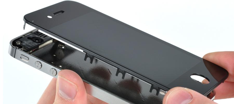 changer la vitre de l'iPhone 5