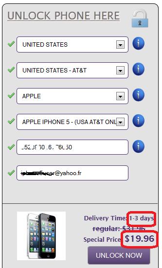 débloquer iphone 5