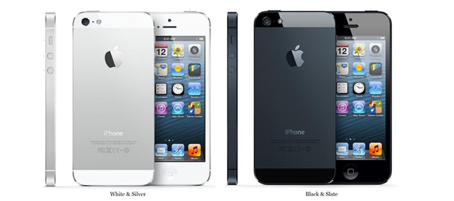 Iphone-5 présentation