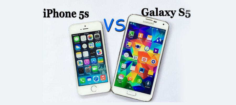iPhone 5S Vs Galaxy S5