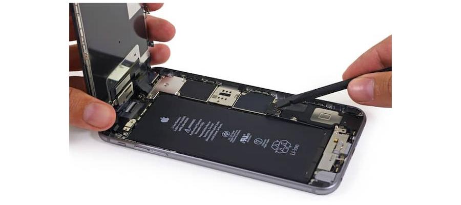 batterie d'un iphone 6